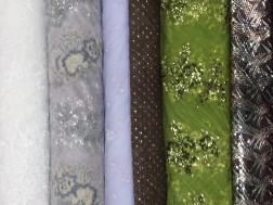 Embroidered and Beaded Dress Fabrics