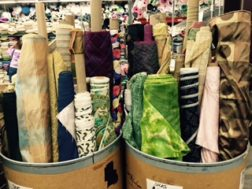 silk fabric on sale at SR Harris Fabric Minneapolis Minnesota